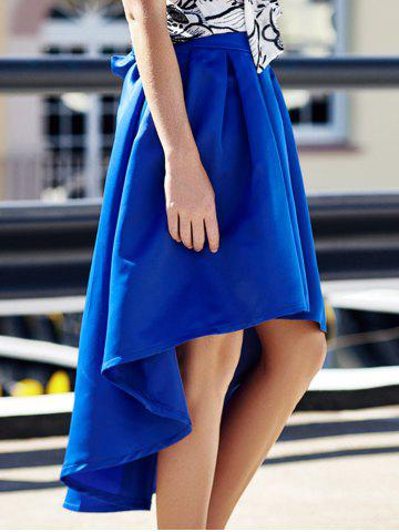 Discount High Low Asymmetric Skirt
