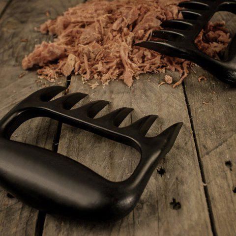 Latest High Quality Bear Claw Shape Barbecue Fork - GUN METAL  Mobile