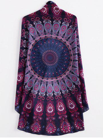 Online Fashionable Round Shape Printed Convertible Women's Cape