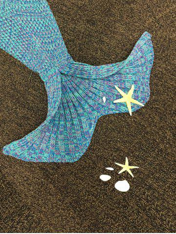Best Stylish Knitted Mermaid Baby Blanket - COLORMIX  Mobile