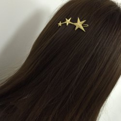 Stylish Solid Color Women's Star Shape Hairpin