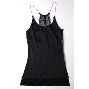 Cami Lace Spliced Tank Top -