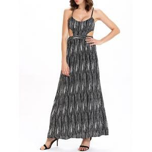 Maxi Criss Cross Backless Slip Summer Dress