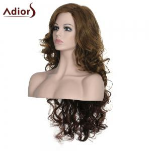 Stylish Long Curly Adiors High Temperature Fiber Women's Wig -