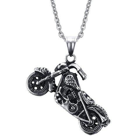 Vintage Motorcycle Collier Shape For Men