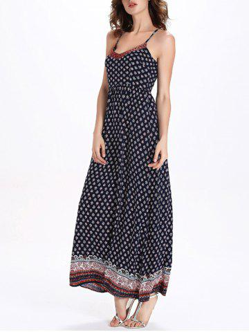 Online Long Printed Boho Slip Dress - XL COLORMIX Mobile