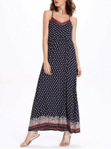 Shops Long Printed Boho Slip Dress - XL COLORMIX Mobile