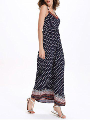 Latest Long Printed Boho Slip Dress - M COLORMIX Mobile
