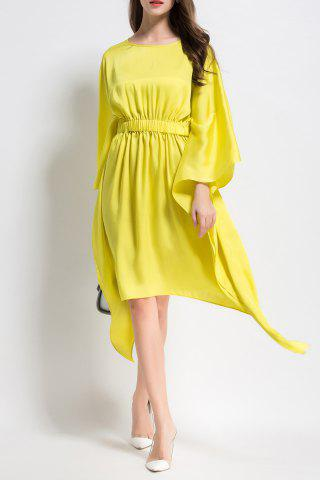 Store Long Sleeve Asymmetric Dress