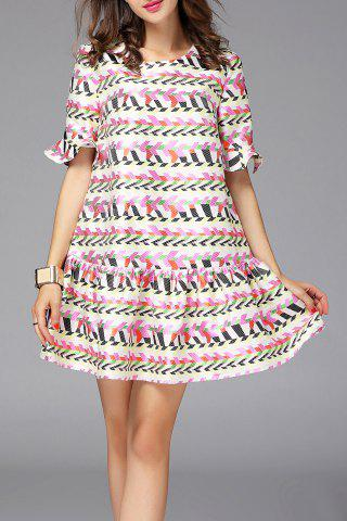 Fashion Drop Waist Dress