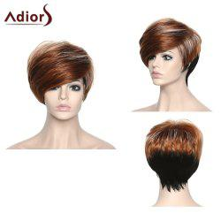 Stylish Short Adiors High Temperature Fiber Women's Wig
