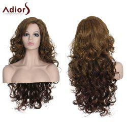 Stylish Long Curly Adiors High Temperature Fiber Women's Wig - COLORMIX