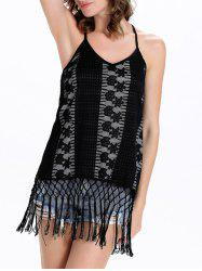 Backless  Fringe Camisole Top