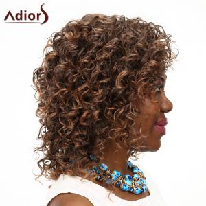 Adiors High Temperature Fiber Curly Wig For Women -
