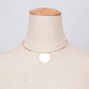 Round Adjustable Necklace -