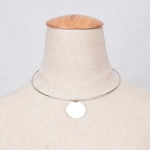 Round Adjustable Necklace
