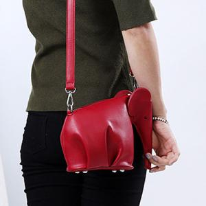 Cute Solid Color and Zip Design Crossbody Bag For Women -