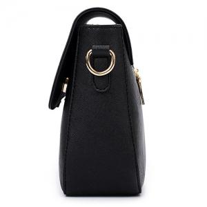 Simple Style Metal and Magnetic Closure Design Crossbody Bag For Women -