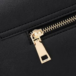 Simple Style Metal and Magnetic Closure Design Crossbody Bag For Women - OFF WHITE