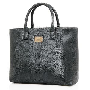 Trendy Crocodile Print and Metal Design Tote Bag For Women -
