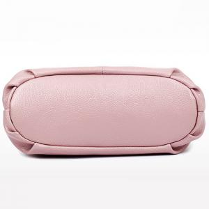 Stylish Magnetic Closure and Embossing Design Crossbody Bag For Women - PINK