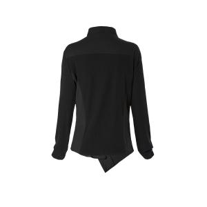 Stylish Turn-Down Collar Long Sleeve Plus Size Coat For Women -