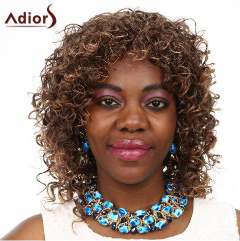 Trendy Adiors High Temperature Fiber Curly Wig For Women