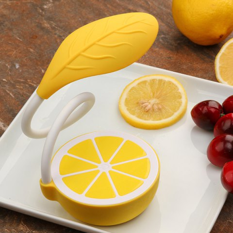 Best Cute Lemon Flexible LED Table Lamp Touch Control Intelligent Dimming - YELLOW  Mobile