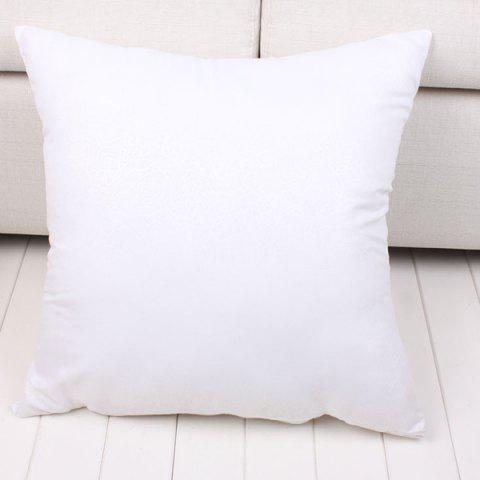Hot Fashion Solid Color Square Shape Fleece Pillow Inner (Without Pillowcase)