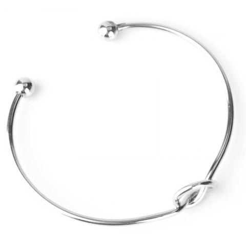 Affordable Knot Opening Bracelet