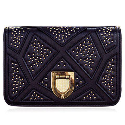 Chic Trendy Chain and Metal Design Crossbody Bag For Women