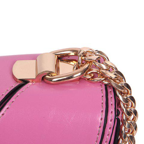 Best Stylish Geometric and Chains Design Crossbody Bag For Women -   Mobile
