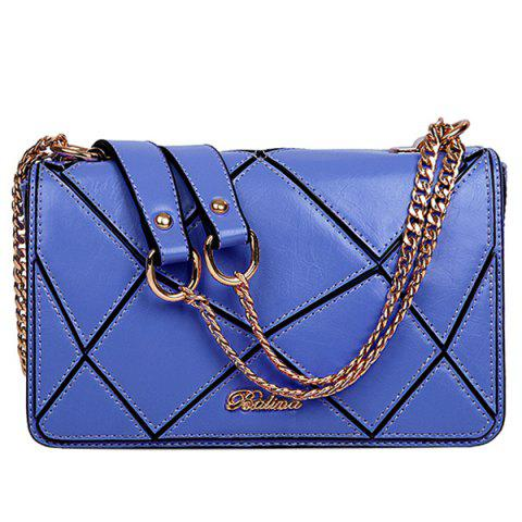 Shop Stylish Geometric and Chains Design Crossbody Bag For Women -   Mobile