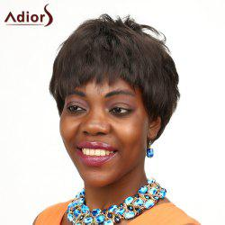 Fluffy Adiors Short High Temperature Fiber Wig For Women