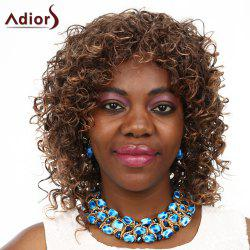 Adiors High Temperature Fiber Curly Wig For Women