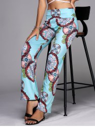 Wide Leg Womens Exumas Pants - LAKE BLUE