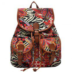 Casual Drawstring and Cover Design Satchel For Women -