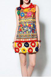 3D Ball Patched Sundress -