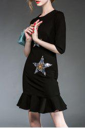 Fitting Sequined Mermaid Dress -