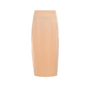 Stylish High Waisted Pure Color Bodycon Women's Skirt