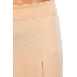 Stylish High Waisted Pure Color Bodycon Women's Skirt - BEIGE M