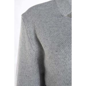 Casual Long Sleeves Color Block Cardigan For Women - GRAY ONE SIZE(FIT SIZE XS TO M)