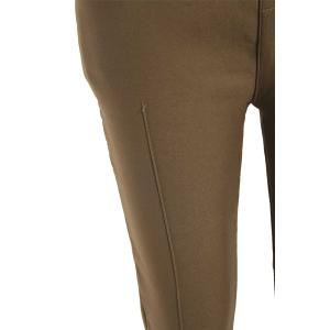 Casual Splicing Thicken Flocking Plus Size Pants For Women -