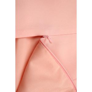 Solid Color Straight Dress -