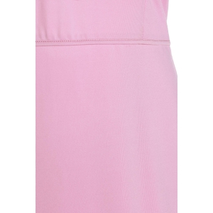 Sleeveless Hollow Out Knee Length Prom Bodycon Dress - PINK 2XL