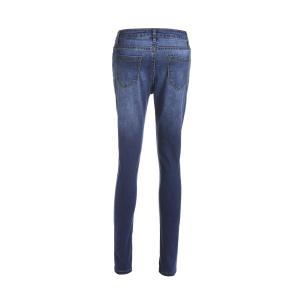 Stylish High-Waisted Skinny Ripped Jeans For Women -