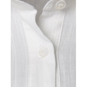 Stylish Two Wear White Shirt For Women - WHITE S