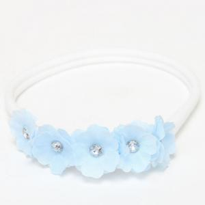 Cute Toddler Girls Baby Flowers Nylon Headband Photography -