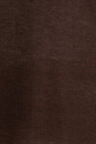 Shop Casual V-Neck Long Sleeve Pure Color T-Shirt For Women - L BROWN Mobile