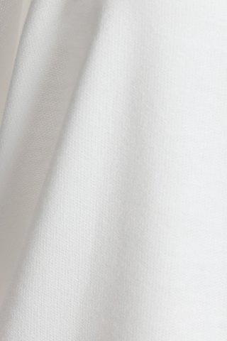 New Stylish Square Neck Long Sleeve Hollow Out Asymmetrical T-Shirt For Women - L WHITE Mobile